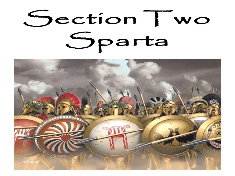 Sparta was in an area known as the Peloponnesus.