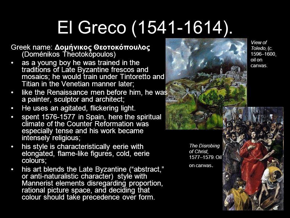 El Greco (1541-1614).