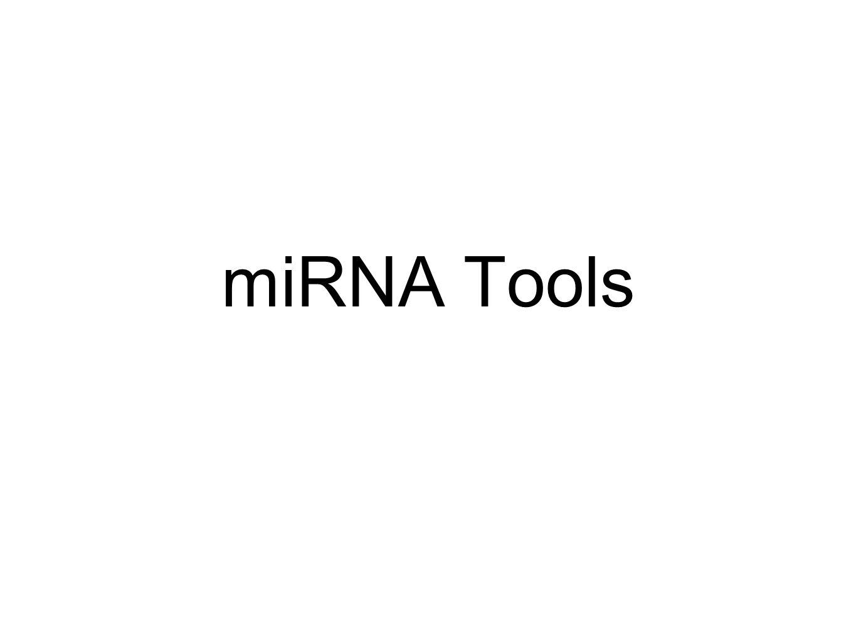 miRNA Tools