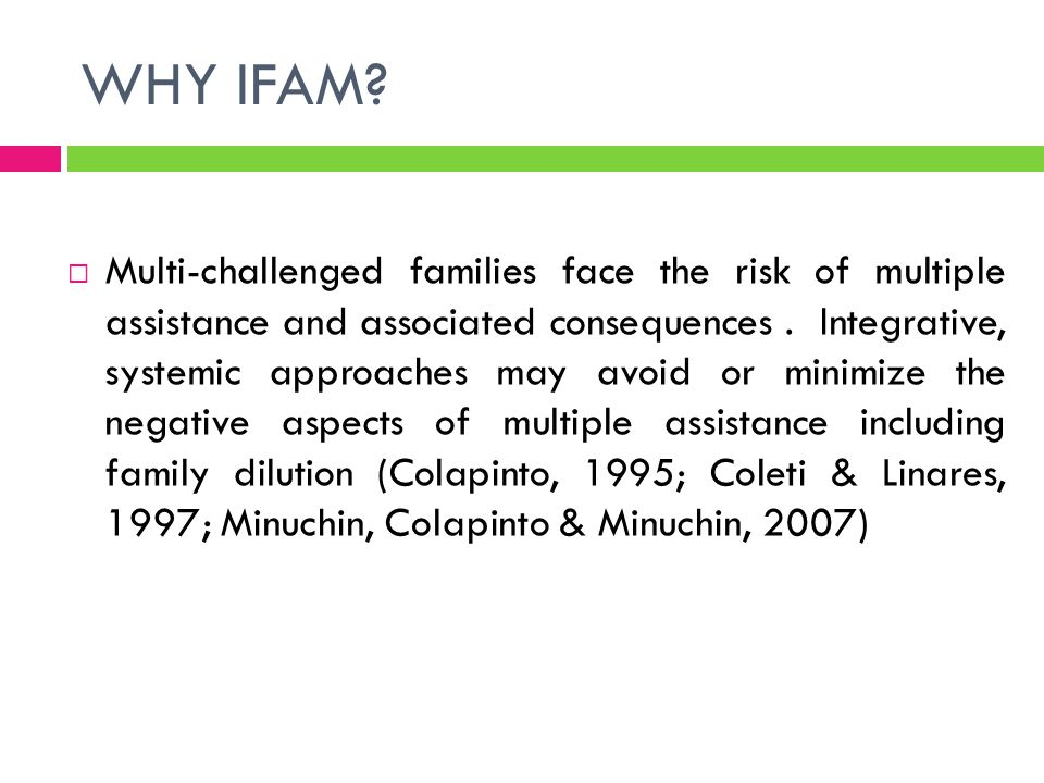 WHY IFAM IN PORTUGAL.