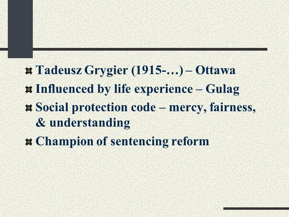 Ezzat Fattah (1929-…) lawyer and Austrian School (victimology) Against the death penalty Amnesty International restorative justice Gwynne Nettler (1913-…) - U of A bridge psychology and sociology Explaining crime '74.