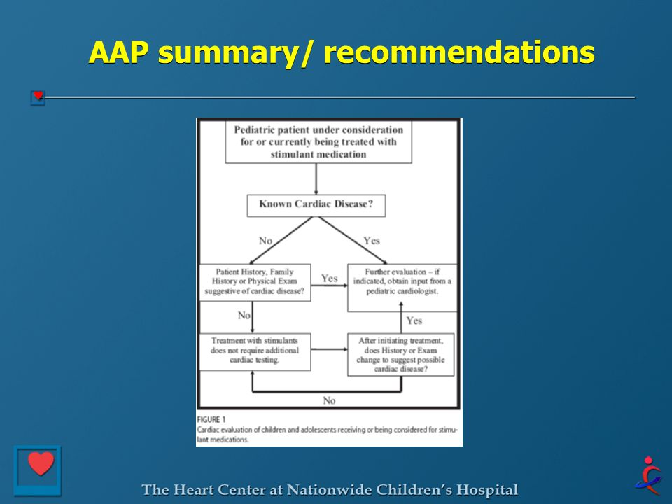 AAP summary/ recommendations