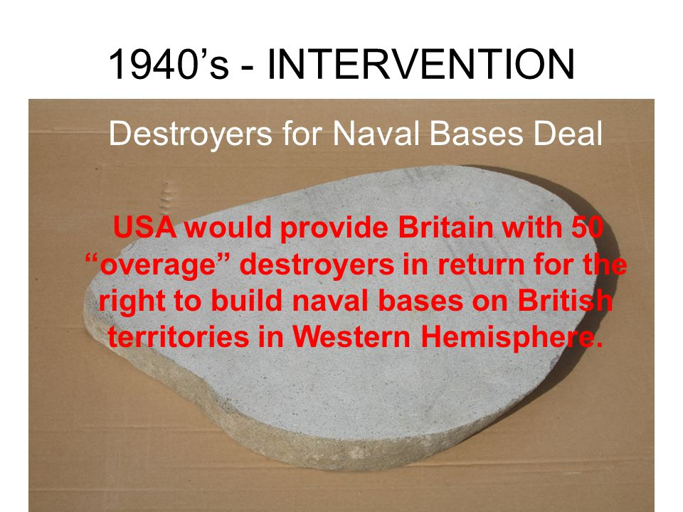 """1930's - NEUTRALITY """"Cash and Carry"""" Nations must pay cash and provide transportation for items purchased in USA - don't repeat situation that led US"""