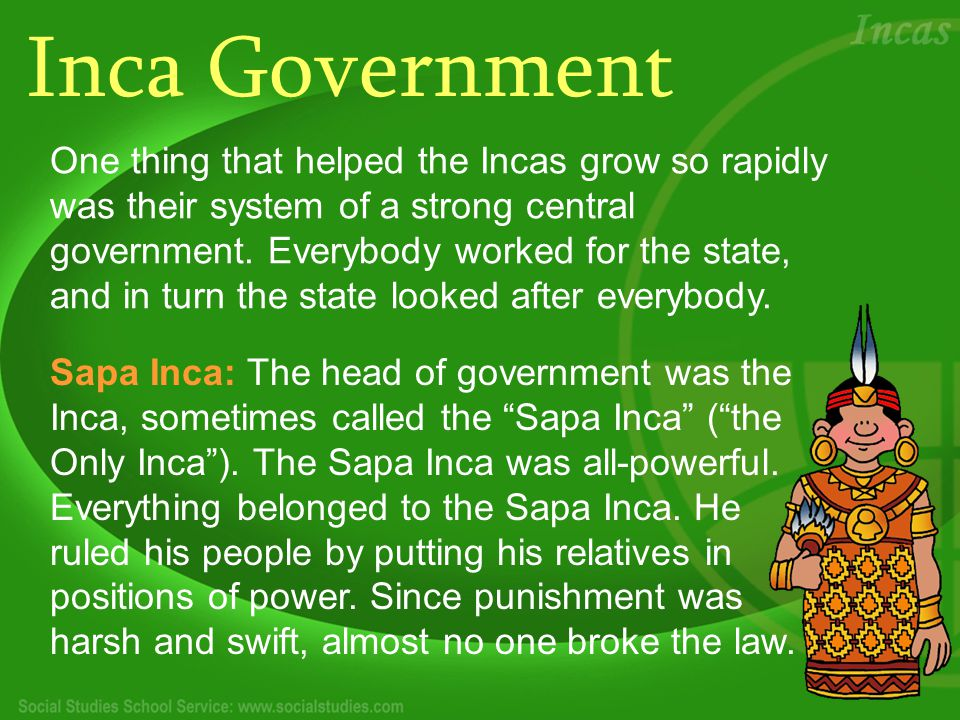 Common People Had No Freedom The Incas were very class conscious and were divided into nobles and common people.