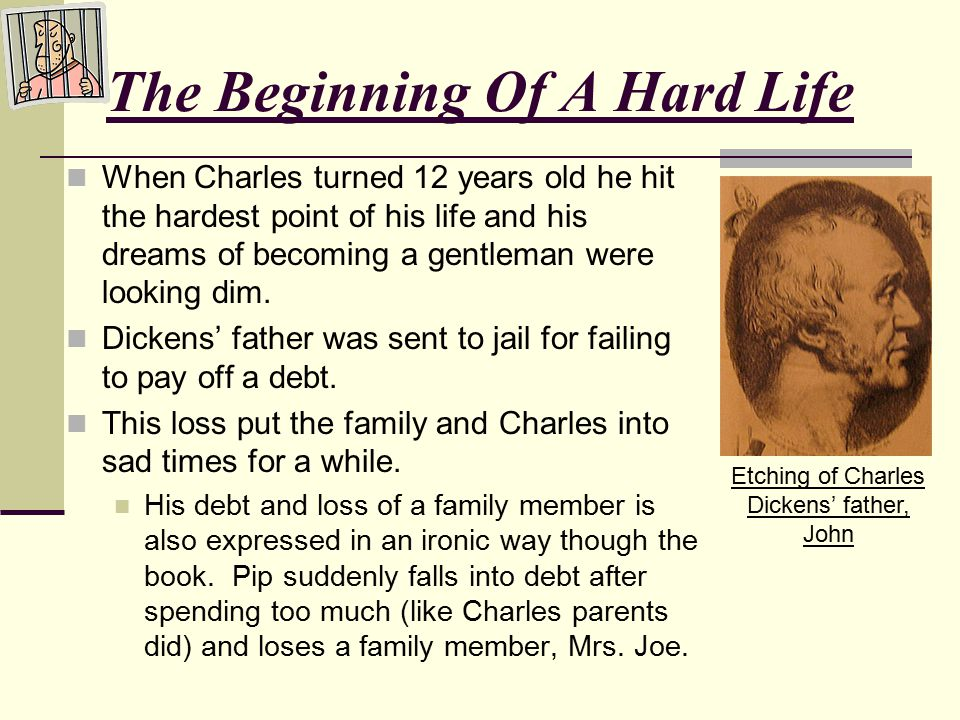 The Beginning Of A Hard Life When Charles turned 12 years old he hit the hardest point of his life and his dreams of becoming a gentleman were looking dim.