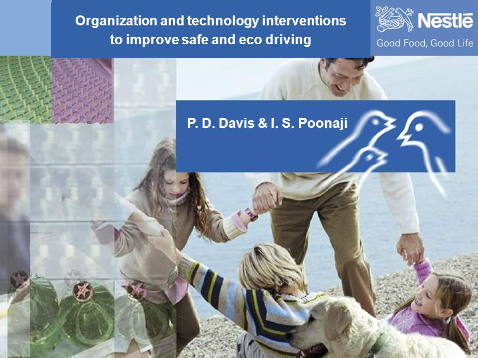 Organization and technology interventions to improve Safe and Eco driving 1 Organization and technology interventions to improve safe and eco driving