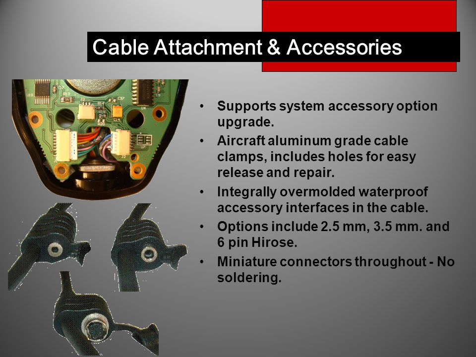 Cable Attachment & Accessories Supports system accessory option upgrade. Aircraft aluminum grade cable clamps, includes holes for easy release and rep