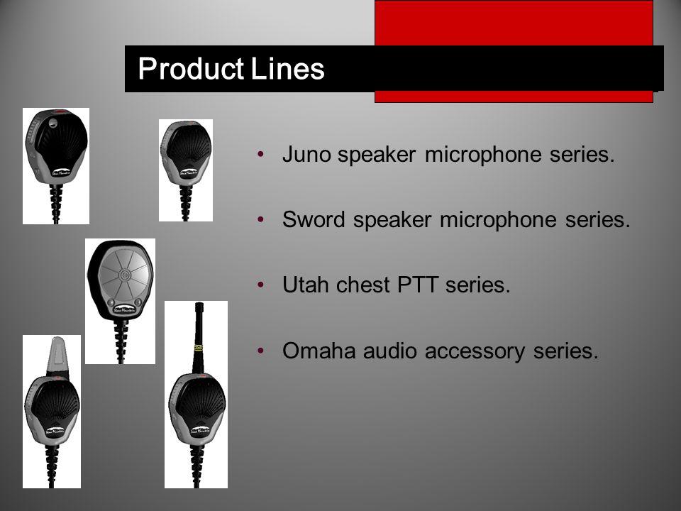 Juno ™ Speaker Microphone Juno speaker microphone series.