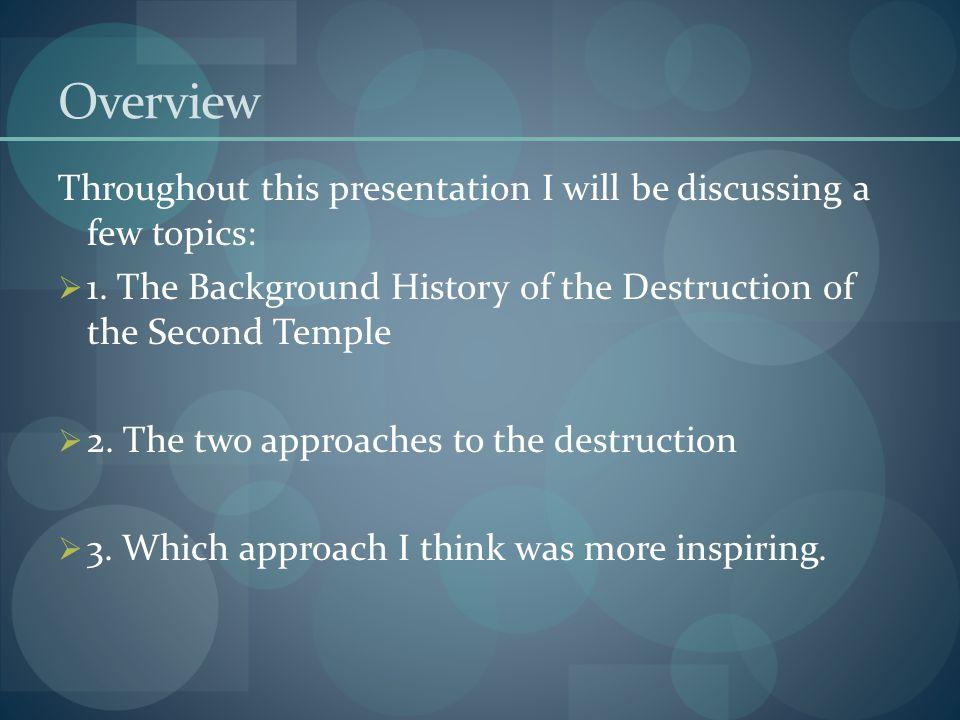 Rabbi Yochanan ben Zakkai 4.Lastly, R' Yochanan acted and put his plan into action.