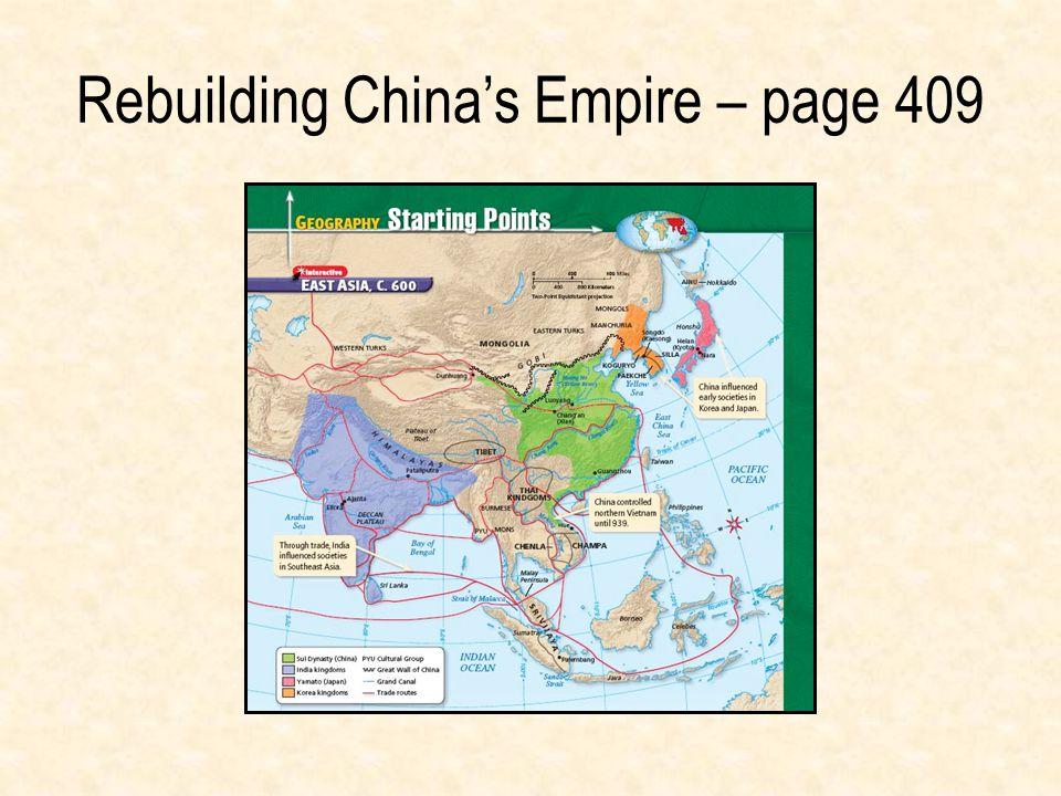 Rebuilding China's Empire – page 409