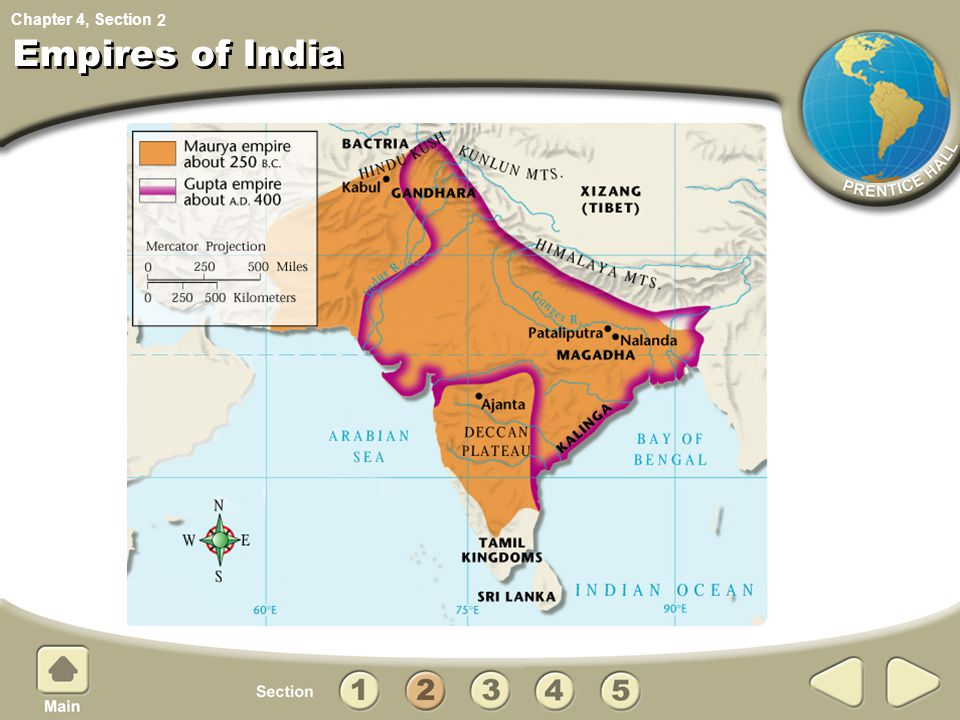 Chapter 4, Section Empires of India 2