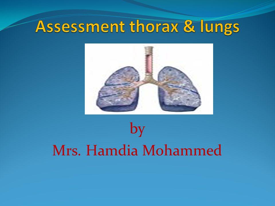 by Mrs. Hamdia Mohammed