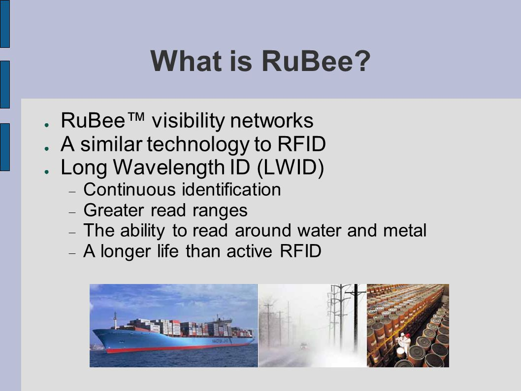 What is RuBee.