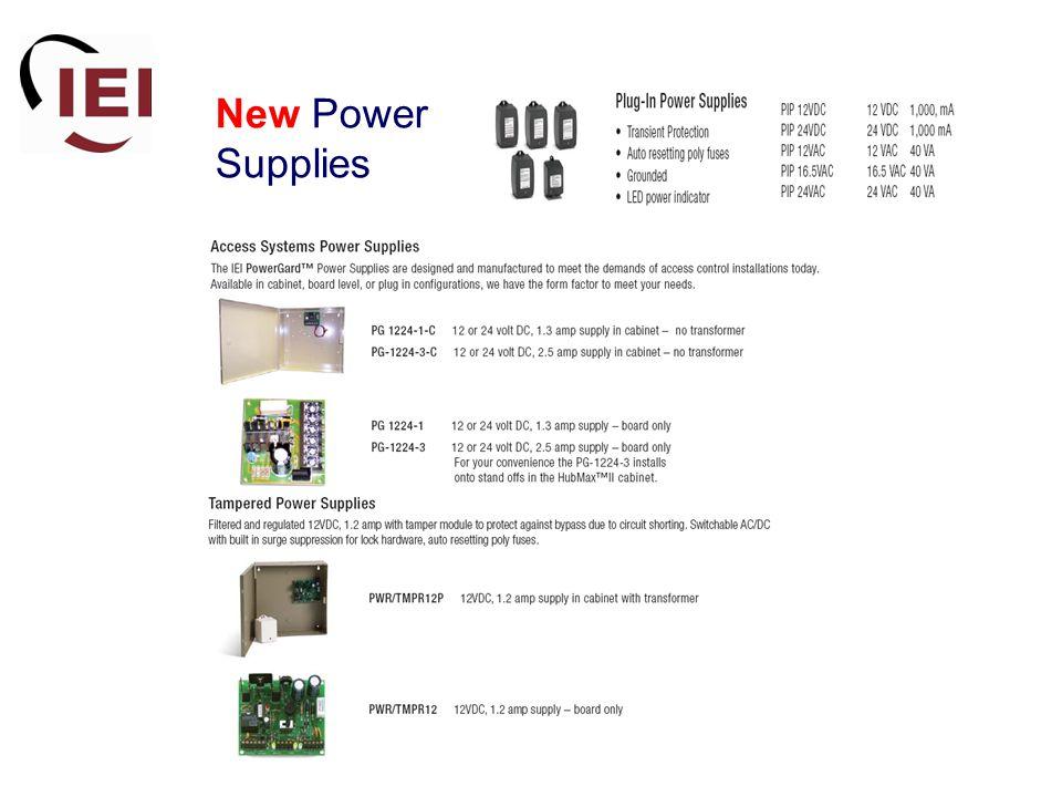 New Power Supplies