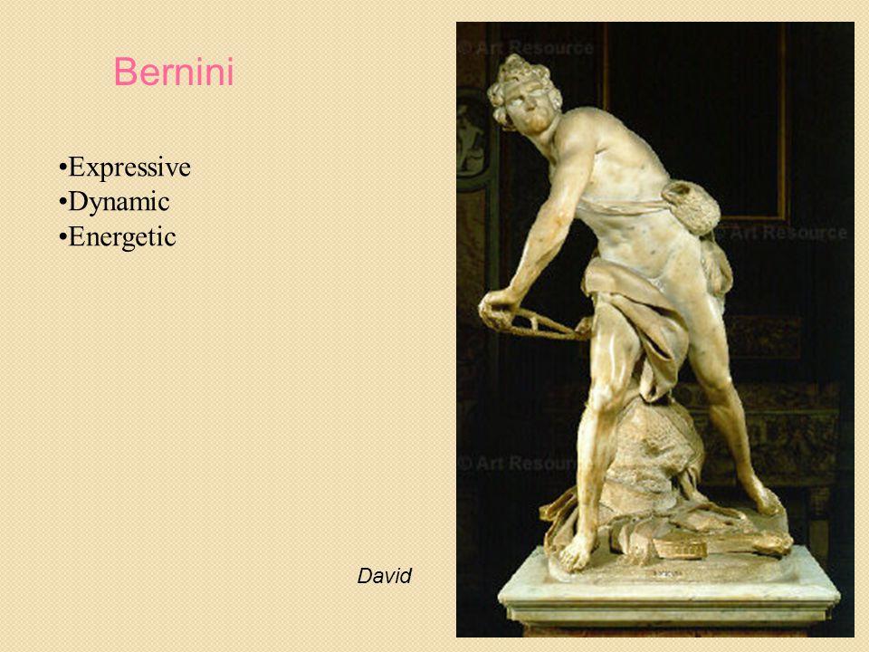 Bernini David Expressive Dynamic Energetic