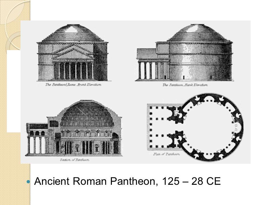 Ancient Roman Pantheon, 125 – 28 CE