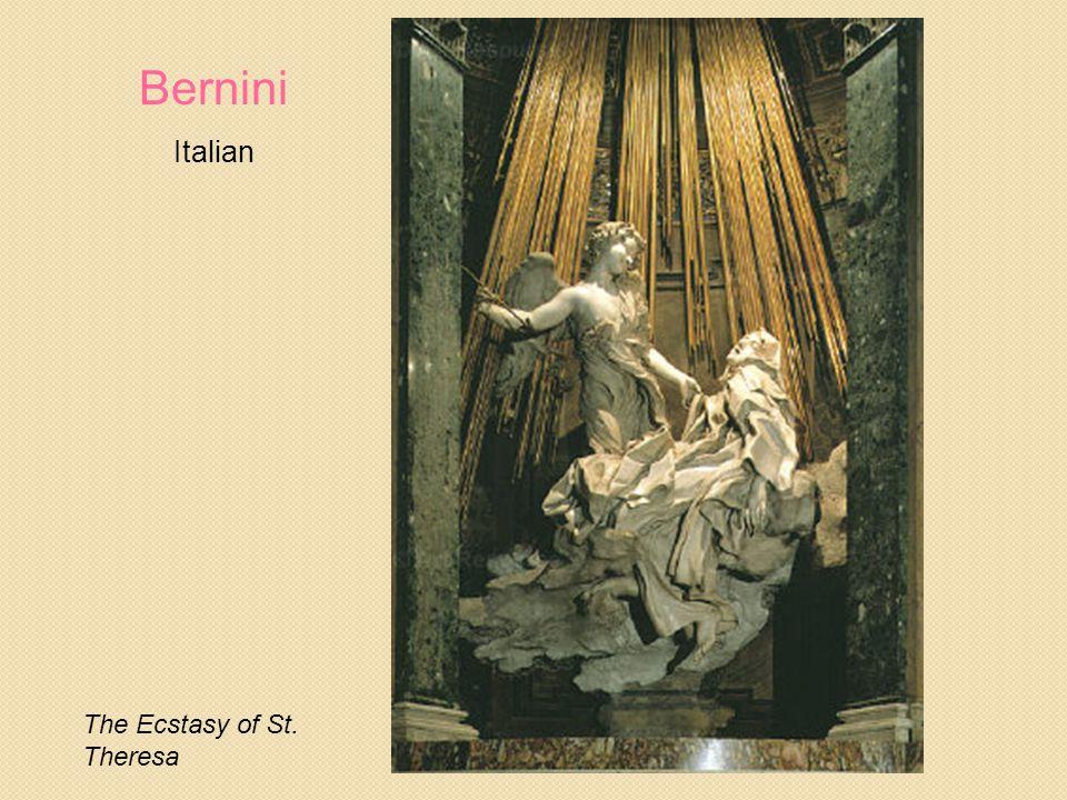 The Ecstasy of St. Theresa Bernini Italian