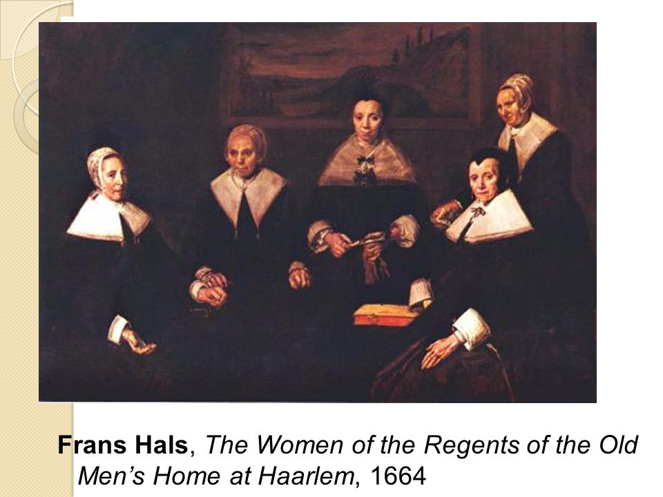Frans Hals, The Women of the Regents of the Old Men's Home at Haarlem, 1664