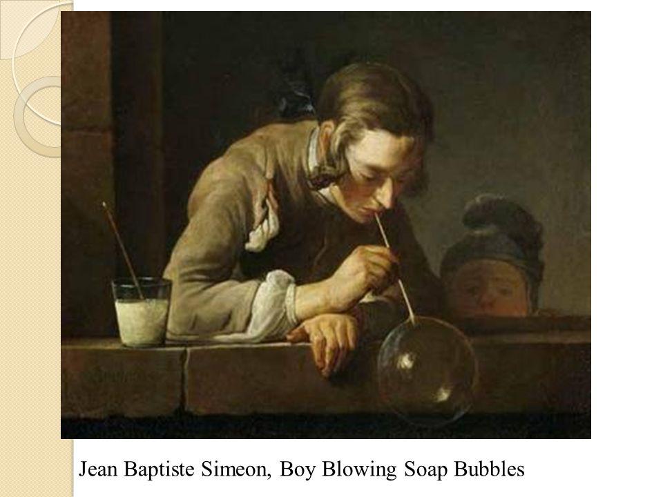 Jean Baptiste Simeon, Boy Blowing Soap Bubbles