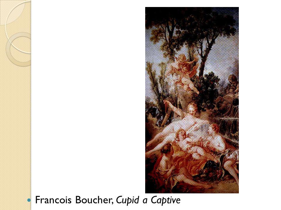 Francois Boucher, Cupid a Captive
