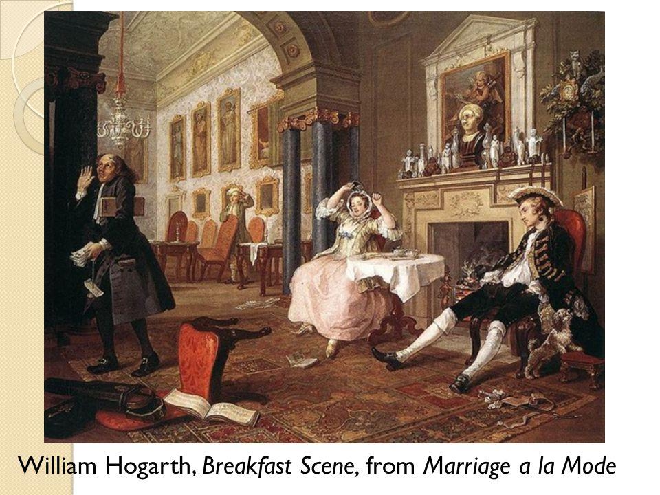 William Hogarth, Breakfast Scene, from Marriage a la Mode