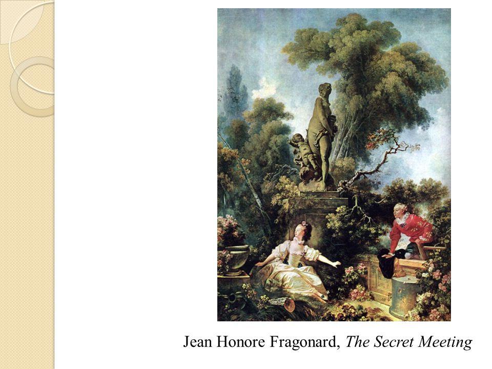 Jean Honore Fragonard, The Secret Meeting