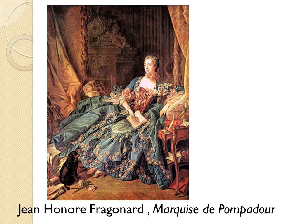 Jean Honore Fragonard, Marquise de Pompadour