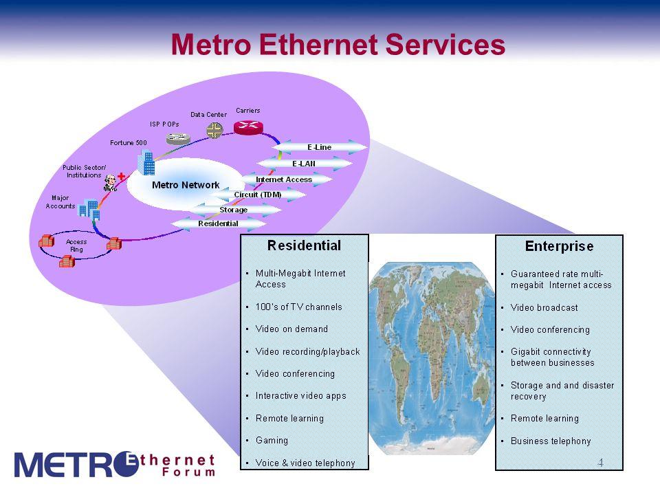 4 Metro Ethernet Services