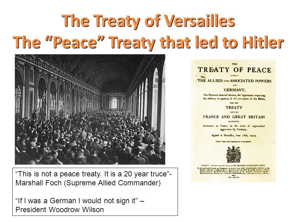 2 What were the terms of the Treaty.