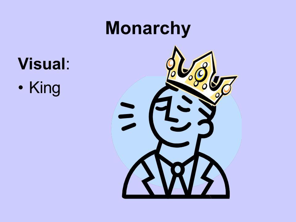 Monarchy Visual: King