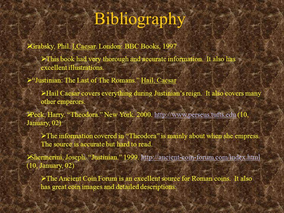 Bibliography  Grabsky, Phil. I,Caesar.