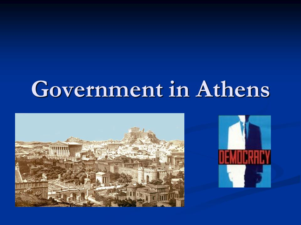 Government in Athens