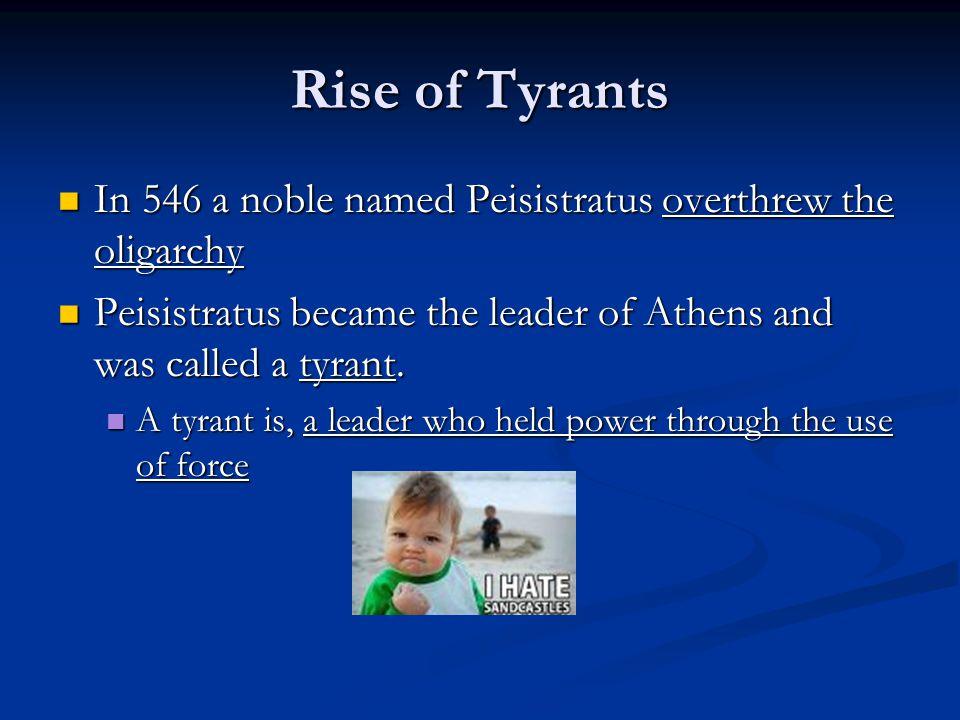 Tyrant what, tyrant who.