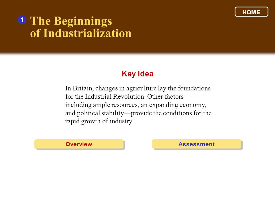 Industrialization Spreads 3 1.Look at the graphic to help organize your thoughts.