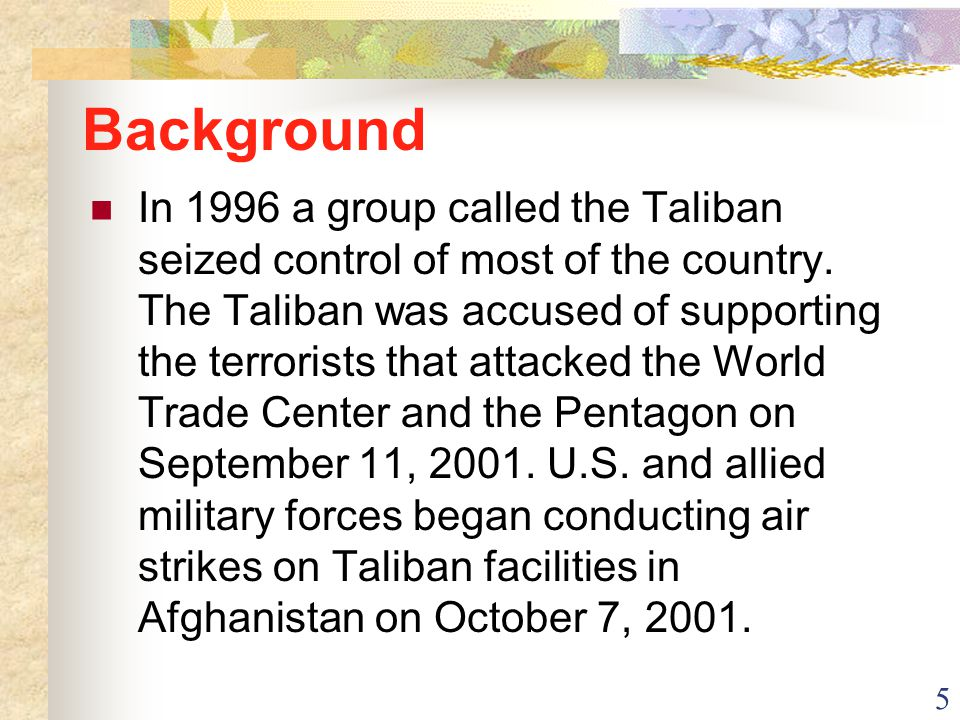 6 Afghanistan in Spatial Terms Absolute Location: 33ºN, 65ºE Relative Location: Landlocked country in southwest Asia Neighbors: North and west of Pakistan; east of Iran; South of Turkmenistan, Uzbekistan, and Tajikistan China shares a border with Afghanistan on the east along the Wakhan Corridor The disputed region of Kashmir lies south of the Wakhan Corridor Area: 251,825 sq.