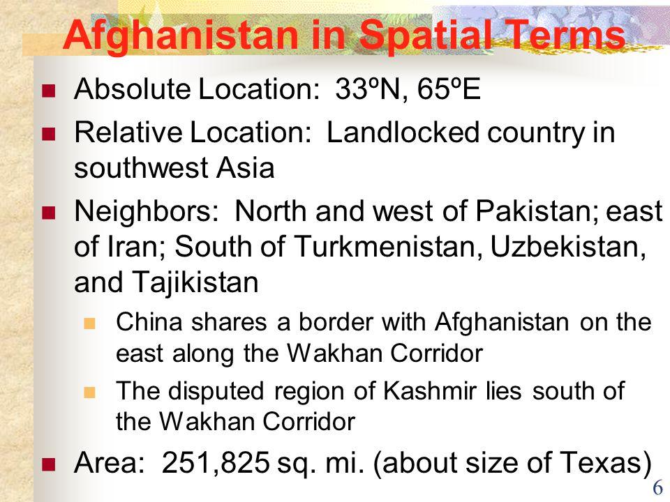 7 Southwest Asia Map