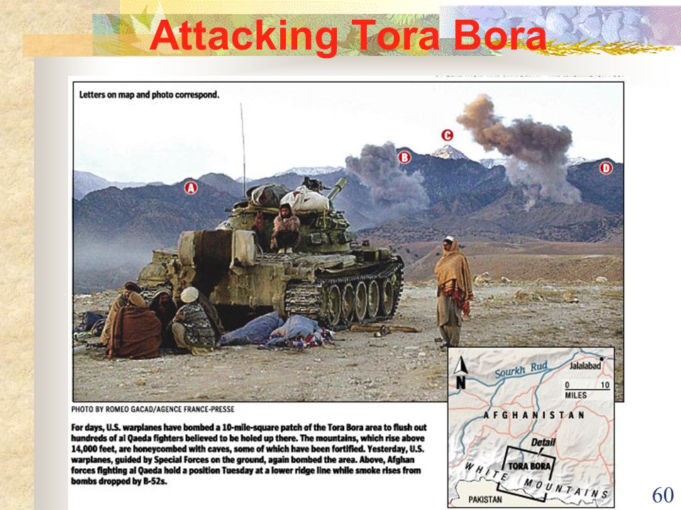 60 Attacking Tora Bora