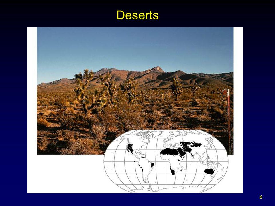 6 Deserts