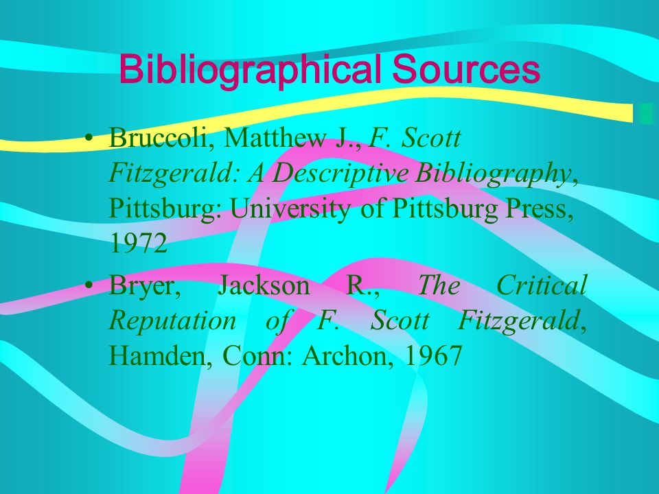 "Univ. of South Carolina's ""F. Scott Fitzgerald Century"" site (www.sc.edu/fitzgerald/index.html) has many links to follow. Hudson Gevaert's ""The Great"