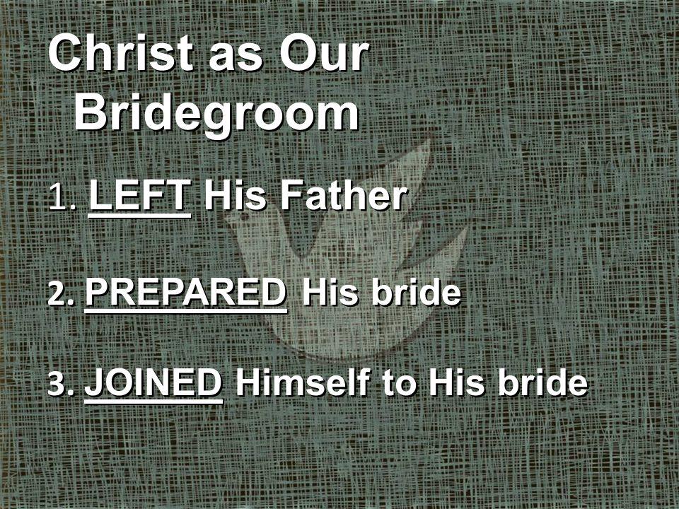 Husbands (Eph. 5:25-30)