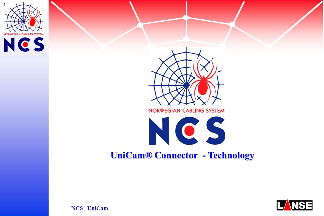 12 NCS - UniCam Harsh Environments: Temperature Changes Temperature Ranges s Installation of 900um Tight Buffer cable -40°C … 70°C s Installation of 250um fibers in Fanout 0°C … 70°C with indoor fanout kit (FAN-BT) -40°C … 70°C with outdoor fanout kit (FAN-OD) (special material with matched temperature coefficients) UniCam ® Connector - Performance