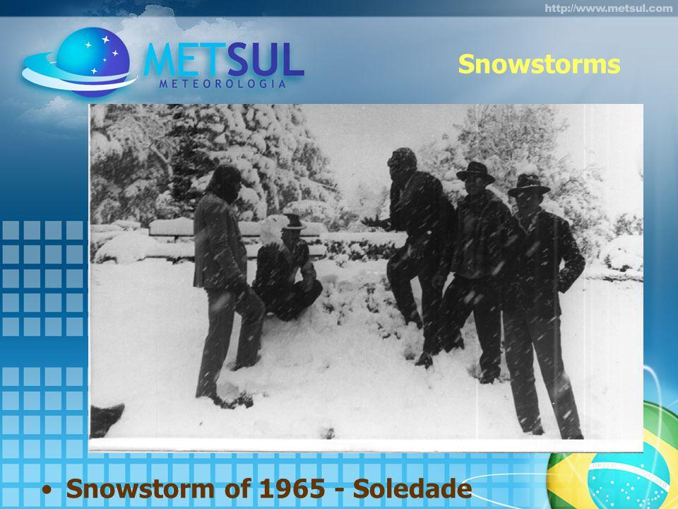 Snowstorms Snowstorm of 1965 - Soledade