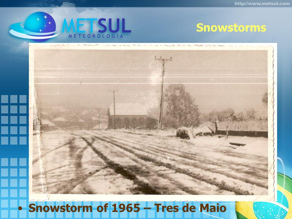 Snowstorms Snowstorm of 1965 – Tres de Maio