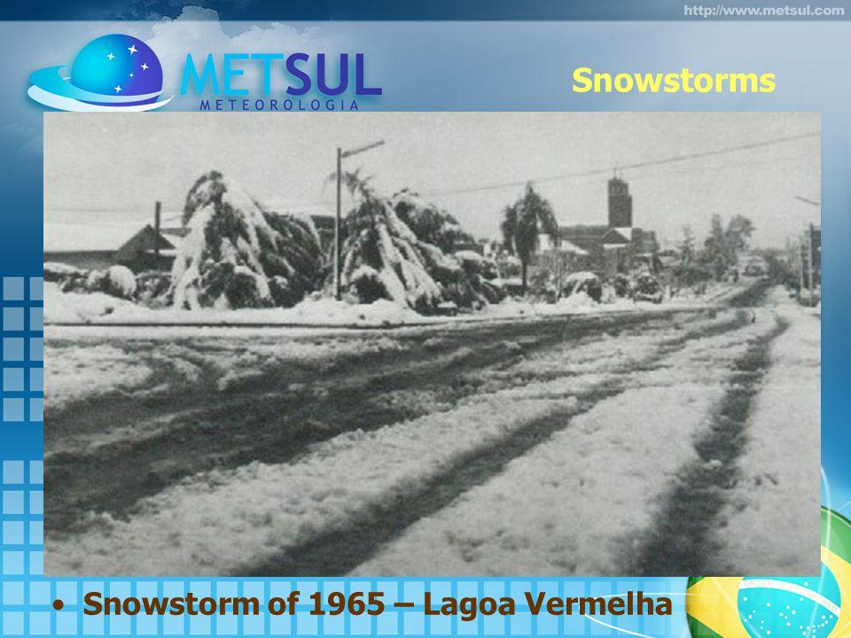 Snowstorms Snowstorm of 1965 – Lagoa Vermelha