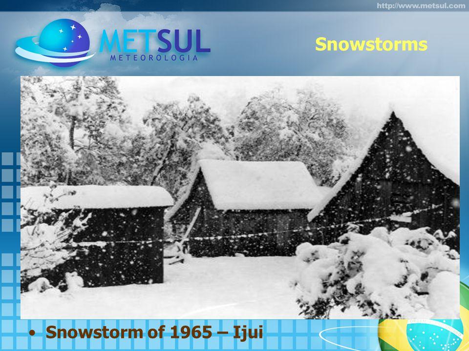 Snowstorms Snowstorm of 1965 – Ijui