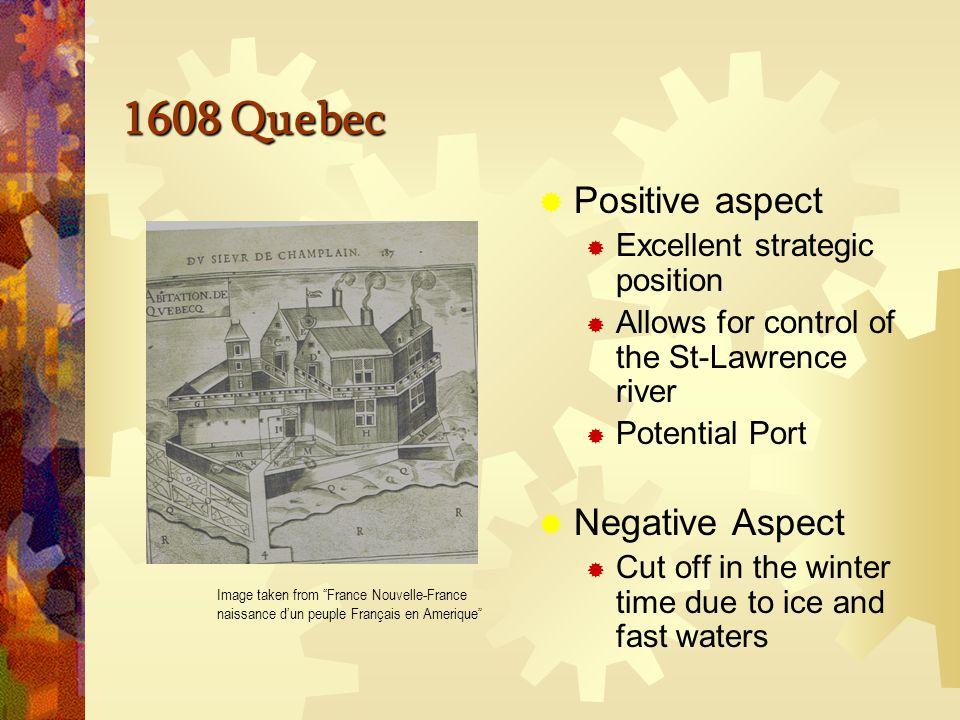 1608 Quebec Image taken from France Nouvelle-France naissance d'un peuple Français en Amerique