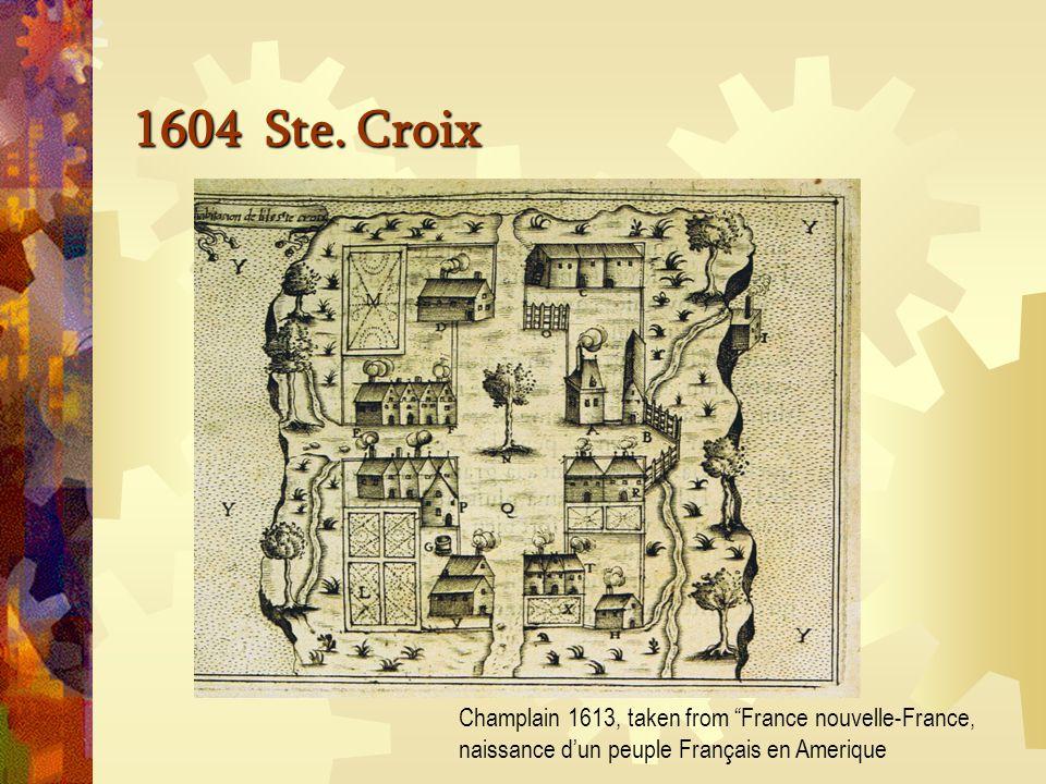 Figure de la Terre-Neuve, Grande rivière de Canada, et côtes de l'Océan de la Nouvelle-France Marc Lescarbot, Histoire de la Nouvelle France 1609