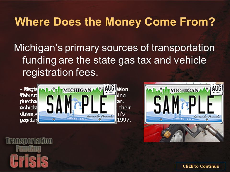 Our Funding Doesn t Go as Far as It Used To The 19 cent state gas tax is now only worth 14.7 cents.