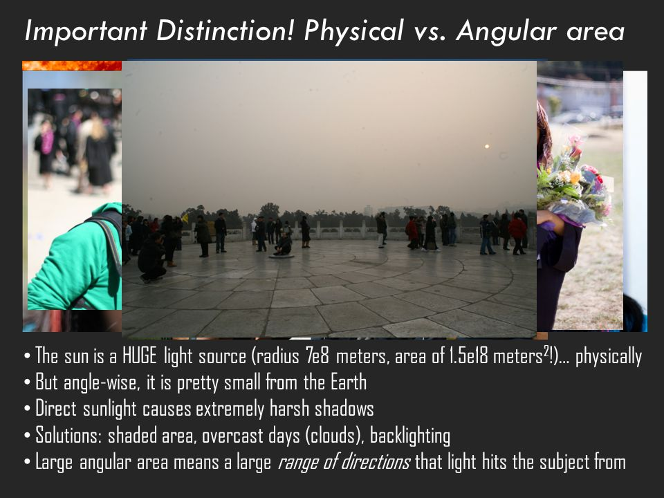 Important Distinction. Physical vs.