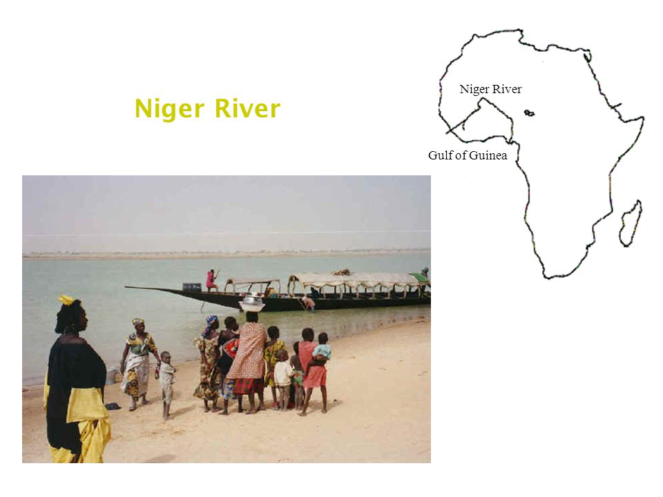 Niger River Gulf of Guinea